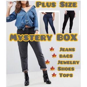 Fun Surprise Box. Multiple sz Plus size Jeans